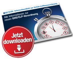 GHS/CLP-Kennzeichnung seit einem Jahr endgültig Pflicht – gratis Infoblatt herunterladen